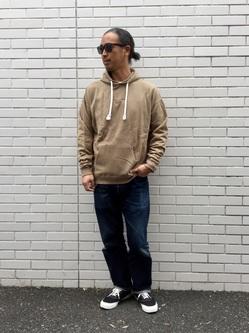 TOKYO HARAJUKU店のKEITAROさんのEDWINの【コンセプトショップ限定】EDWIN x reyn spooner HOODIEを使ったコーディネート
