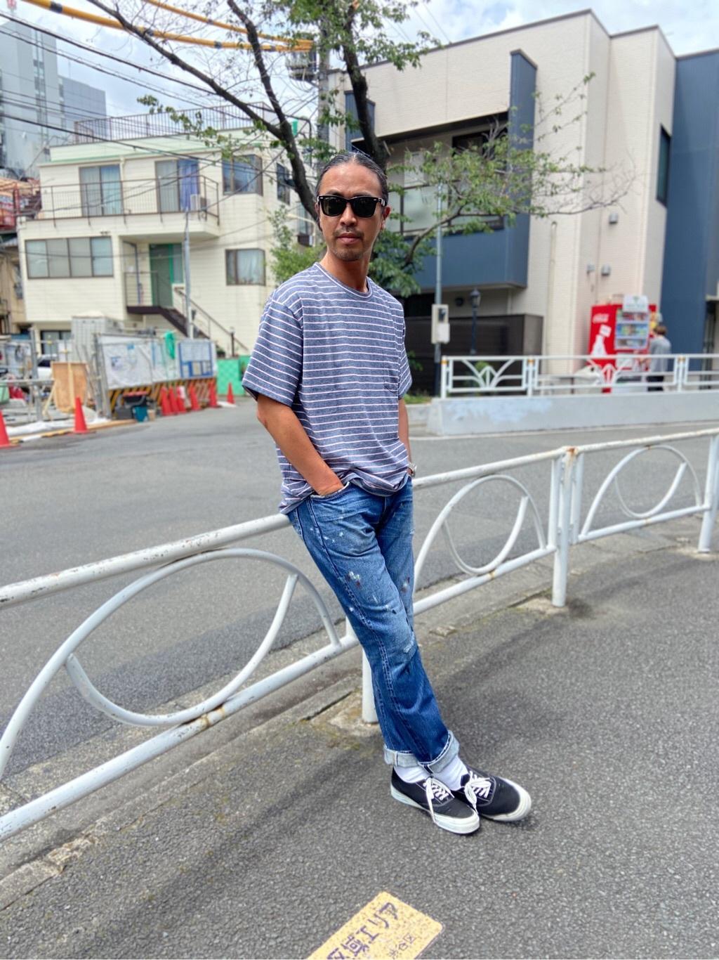 TOKYO HARAJUKU店のKEITAROさんのEDWINの【コンセプトショップ限定】EDWIN EUROPE REGULER TAPEREDを使ったコーディネート