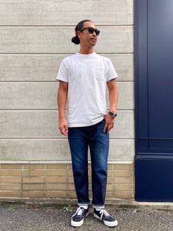 TOKYO HARAJUKU店のKEITAROさんのEDWINの【コンセプトショップ限定】REGULER TAPERED 【レングス81.5cm】を使ったコーディネート