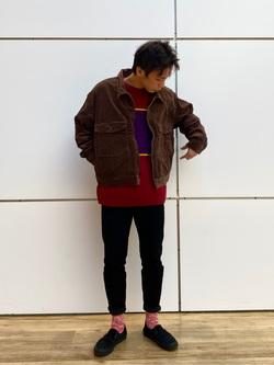 エスパル仙台店のすがきよさんのLeeの【トップス15%OFFクーポン対象】【セットアップ対応】チェトパ ジャケットを使ったコーディネート