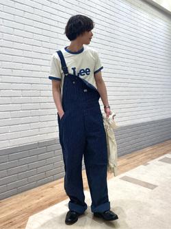 エスパル仙台店のすがきよさんのLeeのリンガー 半袖Tシャツを使ったコーディネート