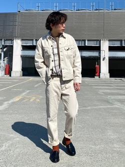 エスパル仙台店のすがきよさんのLeeの【101project】ウエスターナー ジャケットを使ったコーディネート