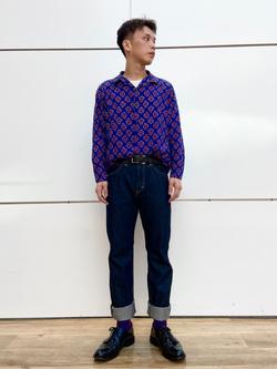 エスパル仙台店のすがきよさんのLeeの【男女兼用】パックポケットTシャツ 半袖を使ったコーディネート