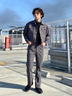 エスパル仙台店のすがきよさんのの【セットアップ対応】ジャケットを使ったコーディネート