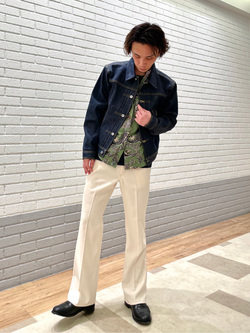 エスパル仙台店のすがきよさんのLeeの【Archives】WWII大戦モデル 101J COWBOY JACKETを使ったコーディネート