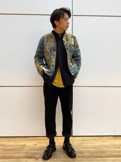 エスパル仙台店のすがきよさんのLeeの【直営店・WEB限定】ビッグポケット シャツジャケットを使ったコーディネート