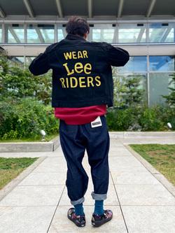 エスパル仙台店のすがきよさんのLeeの101 PROJECT RIDERS JACKETを使ったコーディネート