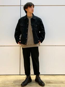エスパル仙台店のすがきよさんのLeeの【Winter sale】101 PROJECT RIDERS JACKETを使ったコーディネート