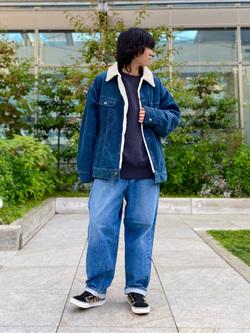 エスパル仙台店のmisaさんのLeeのBOA STORM RIDER ジャケット【コーデュロイ】を使ったコーディネート