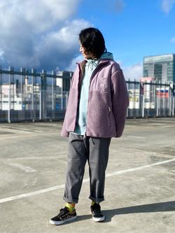 エスパル仙台店のmisaさんのLeeの【Pre sale】【オールシーズン使える】ラクして決まる イージーワイドパンツを使ったコーディネート