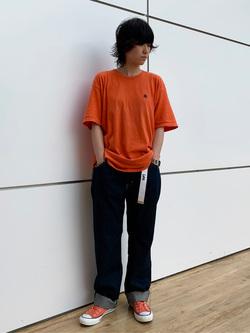エスパル仙台店のmisaさんのLeeのAMERICAN RIDERS 101Z ストレートジーンズを使ったコーディネート