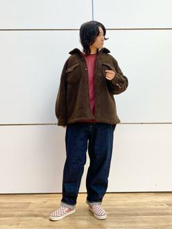 エスパル仙台店のmisaさんのLeeの【トップス15%OFFクーポン対象】【ふっくらボア】CPO ジャケットを使ったコーディネート