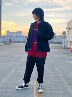 エスパル仙台店のmisaさんのLeeの【オールシーズン使える】ラクして決まる イージーワイドパンツを使ったコーディネート