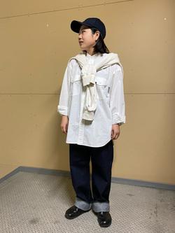ららぽーと横浜のYukakoさんのLeeの【otonaMUSE掲載】【毎日履きたい】ボーイズストレートパンツを使ったコーディネート