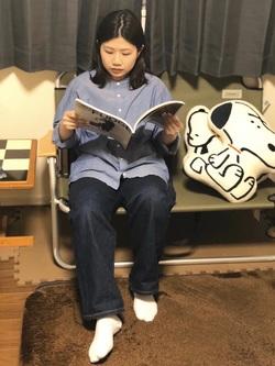 ららぽーと横浜のYukakoさんのLeeの【シークレットセーール!!】STANDARD WARDROBE ストレートを使ったコーディネート