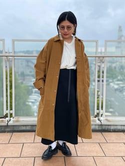 ららぽーと横浜のYukakoさんのLeeの【期間限定10%OFF】【直営店・WEB限定】サービスコートを使ったコーディネート
