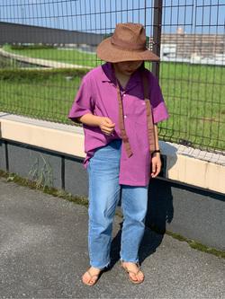 ららぽーと横浜のYukakoさんのLeeのSTANDARD WARDROBE テーパードを使ったコーディネート