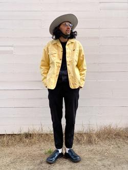 原宿店のKenchanさんのLeeの【セットアップ対応】ロコジャケット/カバーオールを使ったコーディネート