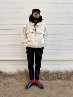 原宿店のKenchanさんのLeeの【再値下げ Winter sale】【セットアップ対応】チェトパ ジャケットを使ったコーディネート
