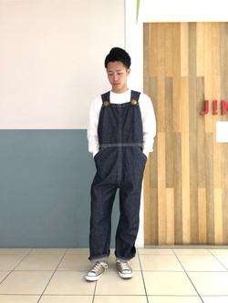 札幌パセオ店のTatsukiさんのLeeの【シークレットセーール!!】BUDDY LEE オーバーオール【ユニセックス】を使ったコーディネート