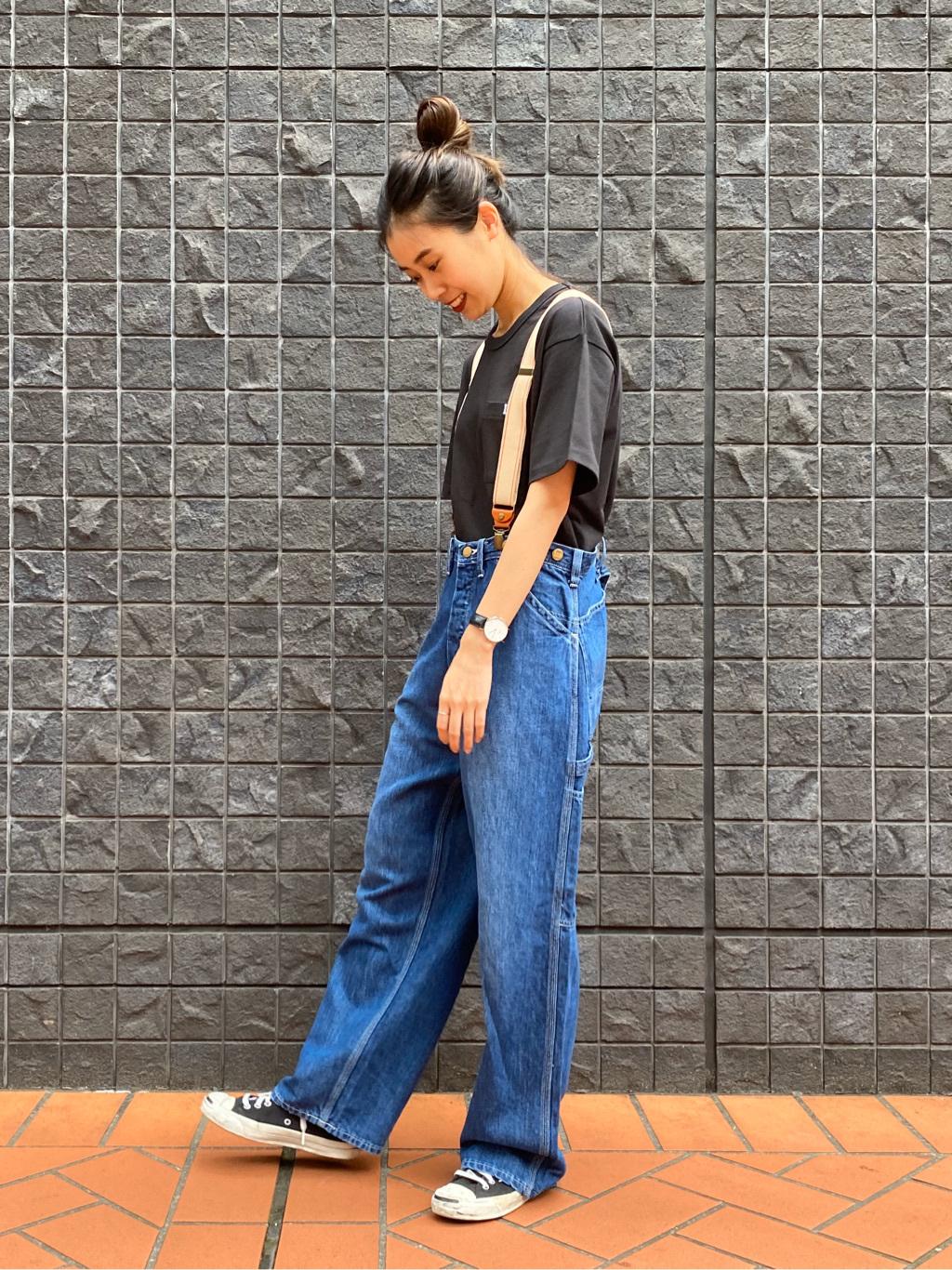 大阪店のmotomiさんのLeeの【Winter sale】ワイド ワークパンツを使ったコーディネート