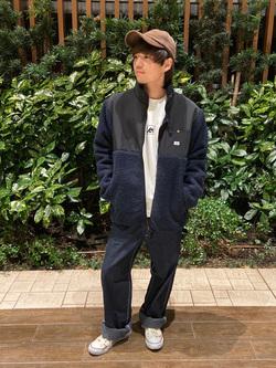 Lee 武蔵小杉店のRyoyaさんのLeeの終了【WINTER SALE】フリース ジップジャケットを使ったコーディネート