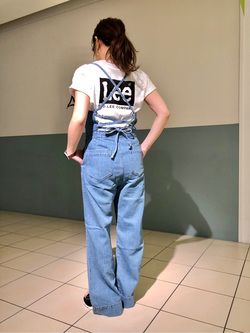 札幌パセオ店のChisatoさんのLeeの【シークレットセーール!!】MARINE マリンサロペツトを使ったコーディネート