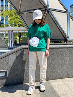 札幌パセオ店のChisatoさんのLeeの終了【再値下げ!サマーセール】ニット 半袖を使ったコーディネート