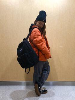 成田空港店(閉店)のYuzukiさんのLeeの【シークレットセーール!!】DUNGAREES スタンダード イージーパンツを使ったコーディネート