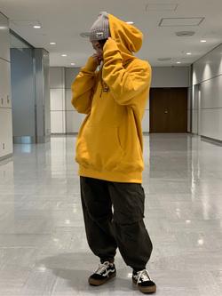 成田空港店(閉店)のYuzukiさんのLeeの終了【シークレットセーール!!】DUNGAREES カーゴイージーパンツを使ったコーディネート