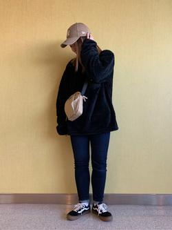 成田空港店(閉店)のYuzukiさんのLeeの終了【FINAL SALE】フリース クルーネック 長袖【ユニセックス】を使ったコーディネート