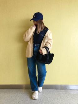 成田空港店(閉店)のYuzukiさんのLeeの【シークレットセーール!!】STANDARD WARDROBE ストレートを使ったコーディネート
