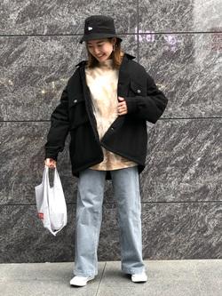 LINKS UMEDA店のMANAEさんのEDWINのヘリンボーン CPO ジャケットを使ったコーディネート