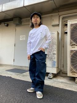原宿店のShochanさんのLeeの終了【サマーセール】ポケット付きTシャツ 長袖を使ったコーディネート