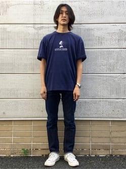 TOKYO HARAJUKU店のMale StaffさんのEDWINの【SALE】【コンセプトショップ限定】EDWIN EUROPE INNER SELF TEEを使ったコーディネート