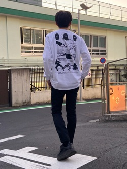 TOKYO HARAJUKU店のMale StaffさんのEDWINの【コンセプトショップ限定】EDWIN EUROPE SHINOBI TEEを使ったコーディネート