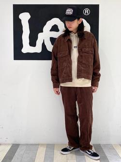 Lee 名古屋店のTakayaさんのLeeの【セットアップ対応】チェトパ ジャケットを使ったコーディネート