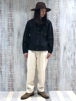Lee 名古屋店のTakayaさんのLeeの101 PROJECT COWBOY JACKETを使ったコーディネート