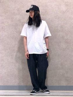 Lee 名古屋店のTakayaさんのLeeの【Lee×GRAMICCI(グラミチ)】ルーズフィット ペインターパンツを使ったコーディネート
