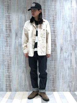 Lee 名古屋店のTakayaさんのLeeのカバーオールジャケットを使ったコーディネート