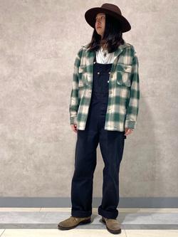 Lee 名古屋店のTakayaさんのLeeの【さらっと羽織れる】シャツジャケットを使ったコーディネート
