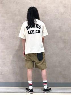 Lee 名古屋店のTakayaさんのLeeの【SALE】【軽くてはきやすい】アスレティック ショーツを使ったコーディネート