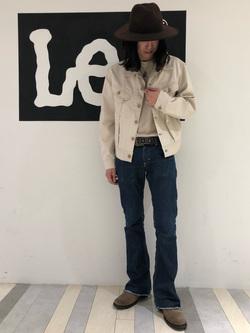 Lee 名古屋店のTakayaさんのLeeのARCHIVES 60S 100J WESTERNER JACKETを使ったコーディネート