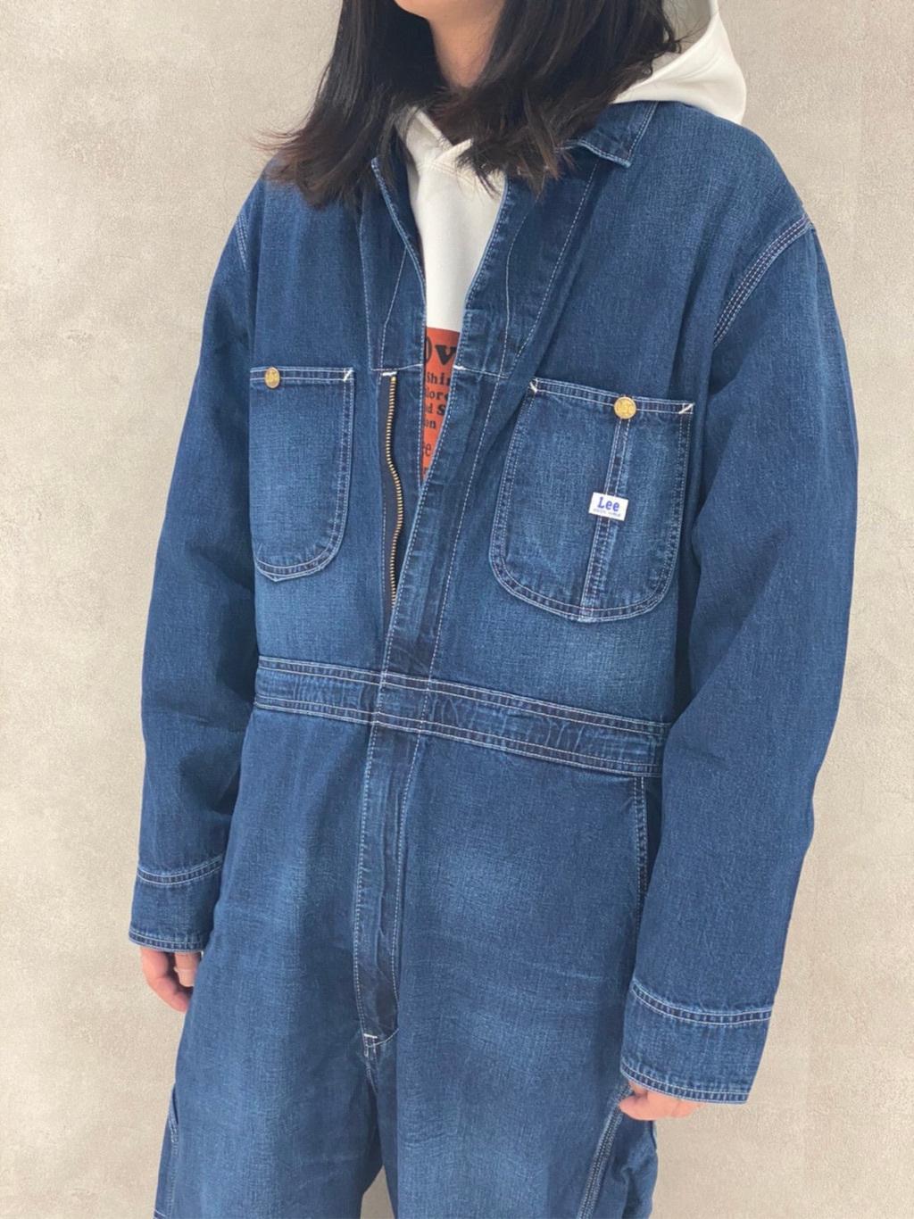Lee 名古屋店のTakayaさんのLeeの【ヘビーウエイト】プリントパーカー3を使ったコーディネート