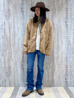 Lee 名古屋店のTakayaさんのLeeの【Pre sale】AMERICAN RIDERS 102 ブーツカットジーンズを使ったコーディネート