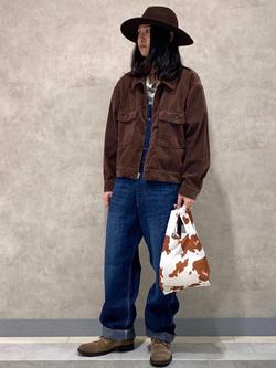 Lee 名古屋店のTakayaさんのLeeのエコバッグ/ミニトートを使ったコーディネート