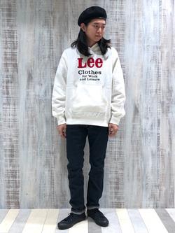 Lee 名古屋店のTakayaさんのLeeのAMERICAN RIDERS 203 テーパードを使ったコーディネート