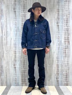 名古屋店のTakayaさんのLeeの101 PROJECT STORM COWBOY JACKETを使ったコーディネート