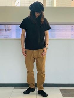 Lee 名古屋店のTakayaさんのLeeの終了【サマーセール】終了【男女兼用】バックプリントTシャツ半袖1を使ったコーディネート