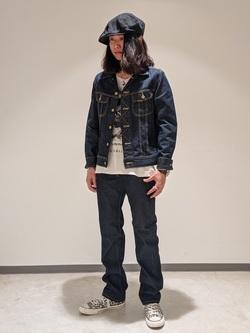 Lee 名古屋店のTakayaさんのLeeの101J デニムジャケットを使ったコーディネート